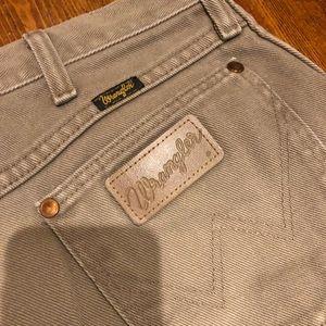 Vintage Wranglers size 27/28